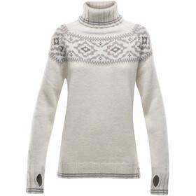 Devold Ona Round Suéter Mujer, negro/gris